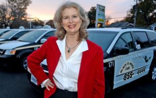Judy Swystun photo with cabs