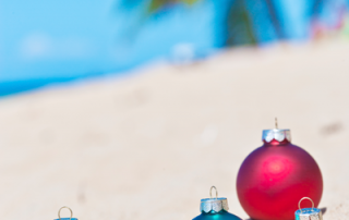 ornaments on beach image