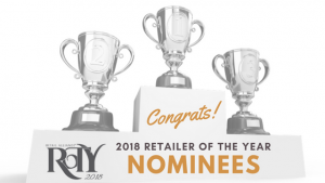 Congratulations to the 2018 Retailer of the Year Nominees!