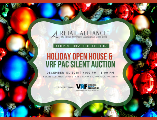 Check out the Open House/VRF PAC Auction Items!