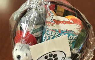 Care-A-Lot Pets gift basket