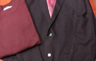 Philip Michael Fashion for Men sweater and sport coat donation