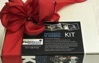 ProMedia shoebox scanning kit donation