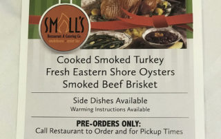 Smalls smokehouse smoked holiday 15lb Turkey