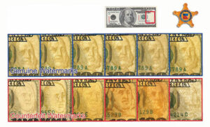 Counterfeiting - security watermarks