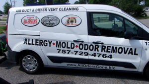 Clean Air Solutions van
