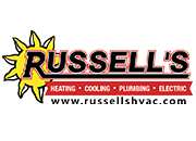 Russell's Heating Cooling Plumbing Electric Logo