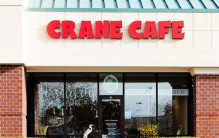Persnickety Crane Cafe external photo