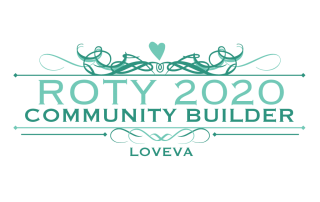 LOVEVA Community Builder Award logo