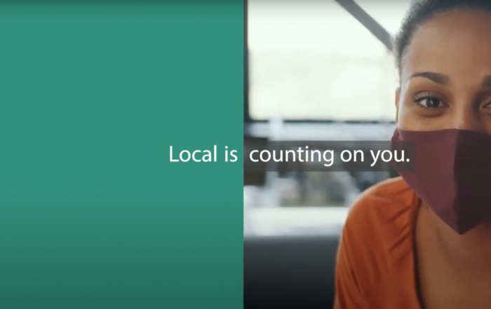Local Is Counting on you